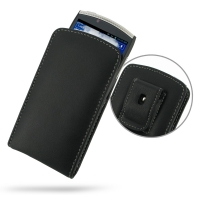 Leather Vertical Pouch Belt Clip Case for Acer CloudMobile S500