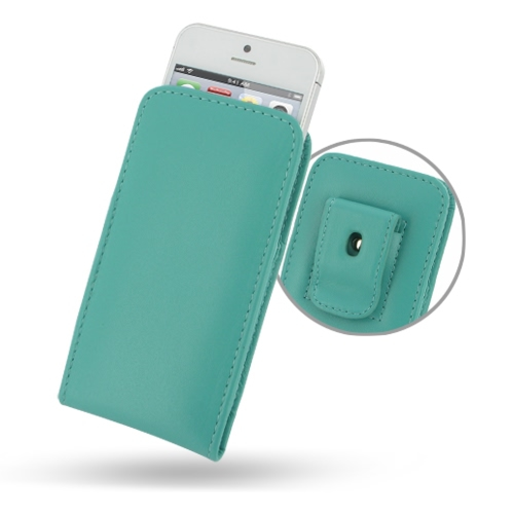 10% OFF + FREE SHIPPING, Buy Best PDair Quality Handmade Protective iPhone 5 | iPhone 5s Pouch Case with Belt Clip (Aqua) online. You also can go to the customizer to create your own stylish leather case if looking for additional colors, patterns and type