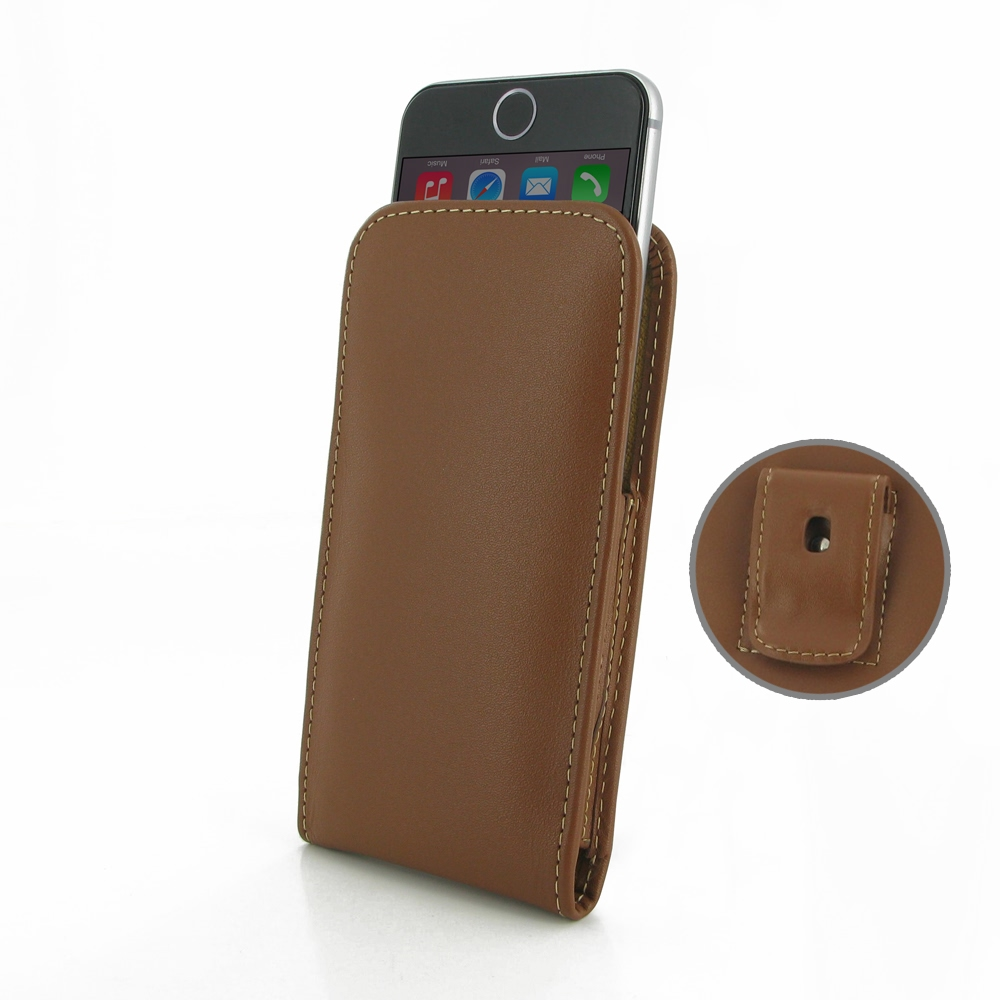 10% OFF + FREE SHIPPING, Buy Best PDair Quality Handmade Protective iPhone 6 | iPhone 6s Pouch Case with Belt Clip (Brown) online. You also can go to the customizer to create your own stylish leather case if looking for additional colors, patterns and typ