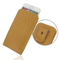 10% OFF + FREE SHIPPING, Buy PDair Quality Handmade Protective iPhone 6 | iPhone 6s Pouch Case with Belt Clip (Brown Croc Pattern). You also can go to the customizer to create your own stylish leather case if looking for additional colors, patterns and ty