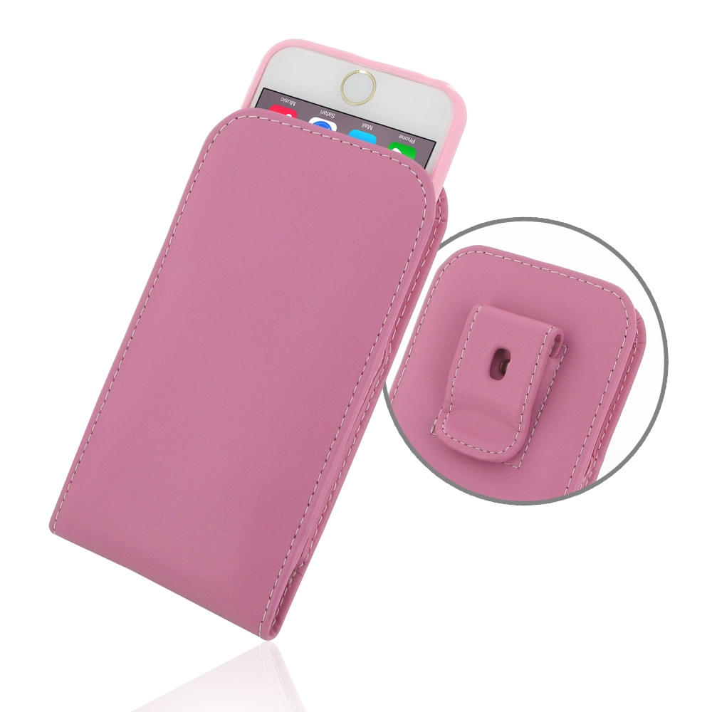 10% OFF + FREE SHIPPING, Buy PDair Quality Handmade Protective iPhone 6 | iPhone 6s (in Slim Cover) Pouch Clip Case (Petal Pink) online. You also can go to the customizer to create your own stylish leather case if looking for additional colors, patterns a