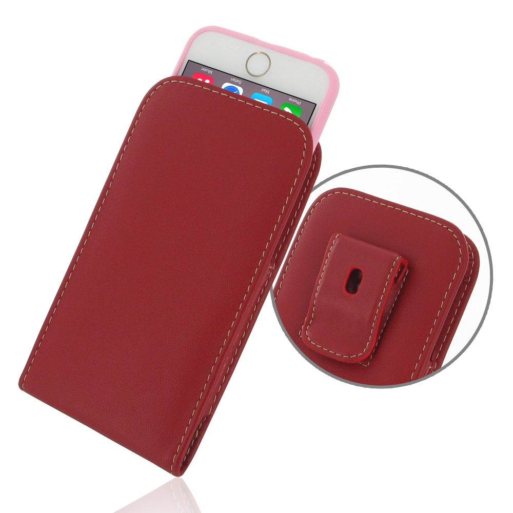 10% OFF + FREE SHIPPING, Buy Best PDair Quality Handmade Protective iPhone 6 | iPhone 6s (in Slim Cover) Leather Pouch Clip Case (Red). You also can go to the customizer to create your own stylish leather case if looking for additional colors, patterns an