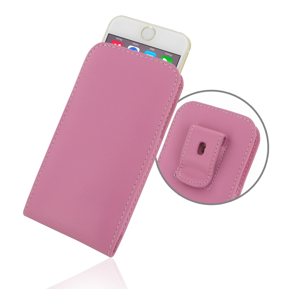 10% OFF + FREE SHIPPING, Buy Best PDair Quality Handmade Protective iPhone 6 | iPhone 6s Leather Pouch Case with Belt Clip (Petal Pink). You also can go to the customizer to create your own stylish leather case if looking for additional colors, patterns a