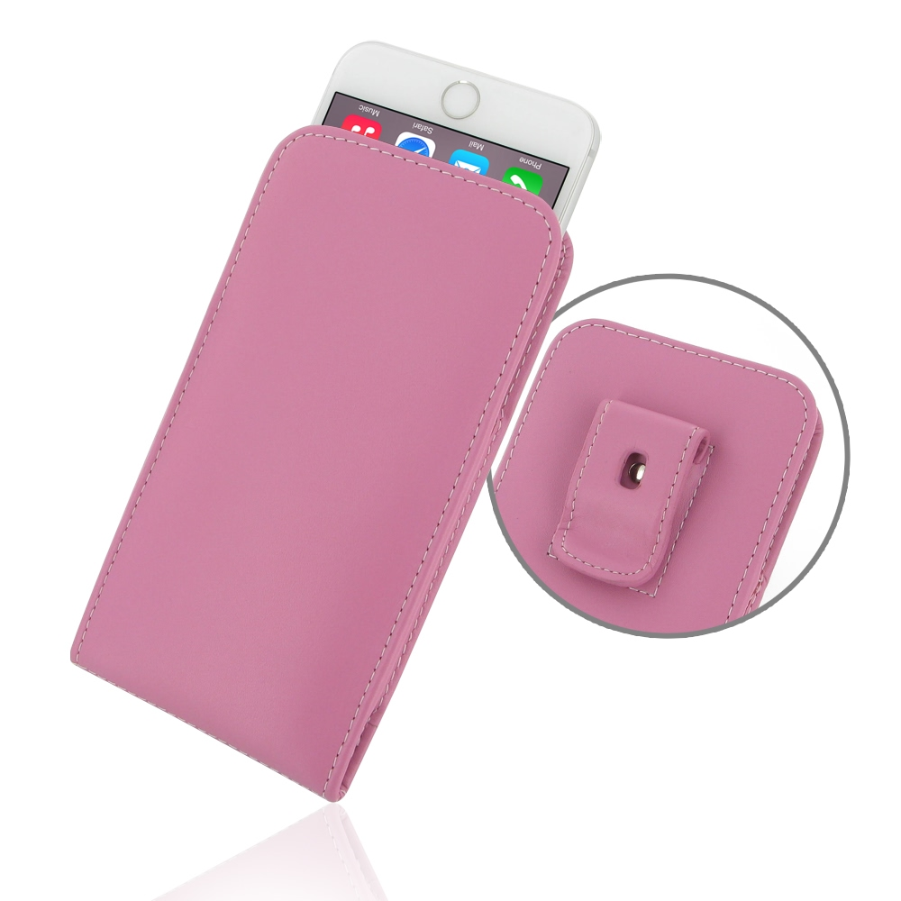 10% OFF + FREE SHIPPING, Buy PDair Quality Handmade Protective iPhone 6 Plus   iPhone 6s Plus Pouch Case with Belt Clip (Petal Pink) online. You also can go to the customizer to create your own stylish leather case if looking for additional colors, patter