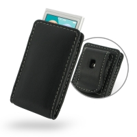 Leather Vertical Pouch Belt Clip Case for Apple iPod nano 8th / iPod nano 7th Generation