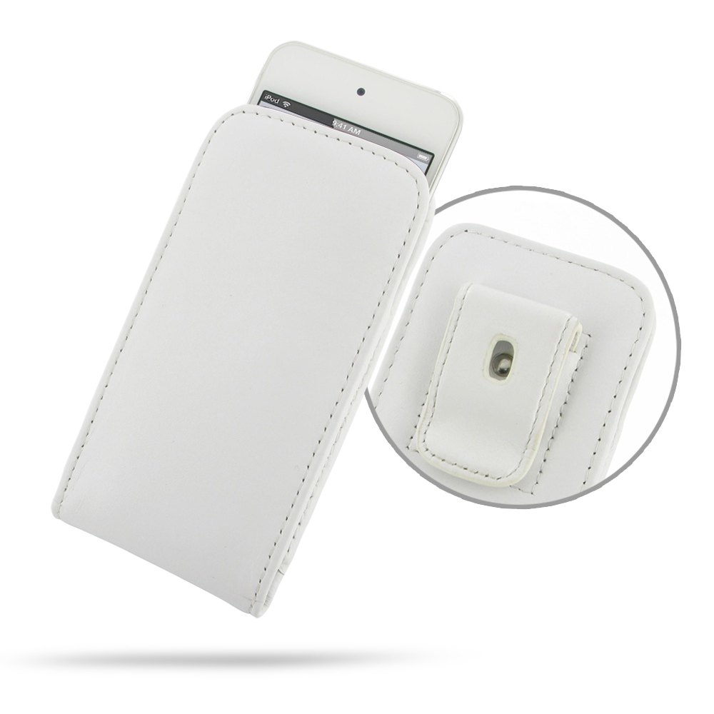 10% OFF + FREE SHIPPING, Buy Best PDair Quality iPod touch 7 / iPod touch 6 / iPod touch 5 Pouch Case with Belt Clip (White) is custom designed to provide full protection with our traditional design. This handmade carrying case allows you to place the dev