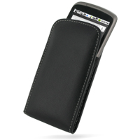 Leather Vertical Pouch Belt Clip Case for HTC Google Nexus One (Black)