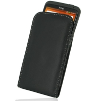 HTC One X+ Plus Pouch Case with Belt Clip PDair Premium Hadmade Genuine Leather Protective Case Sleeve Wallet