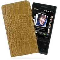 10% OFF + FREE SHIPPING, Buy PDair Quality Handmade Protective HTC Touch Diamond 100 Pouch Case with Belt Clip (Brown Croc Pattern) online. You also can go to the customizer to create your own stylish leather case if looking for additional colors, pattern