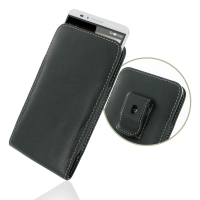 Leather Vertical Pouch Belt Clip Case for Huawei Ascend Mate 7