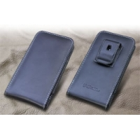 Leather Vertical Pouch Belt Clip Case for Kyocera DIGNO M KYL22