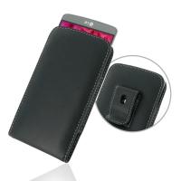 Leather Vertical Pouch Belt Clip Case for LG G3 D850 D855