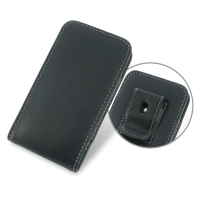 Motorola Droid Mini Pouch Case with Belt Clip PDair Premium Hadmade Genuine Leather Protective Case Sleeve Wallet