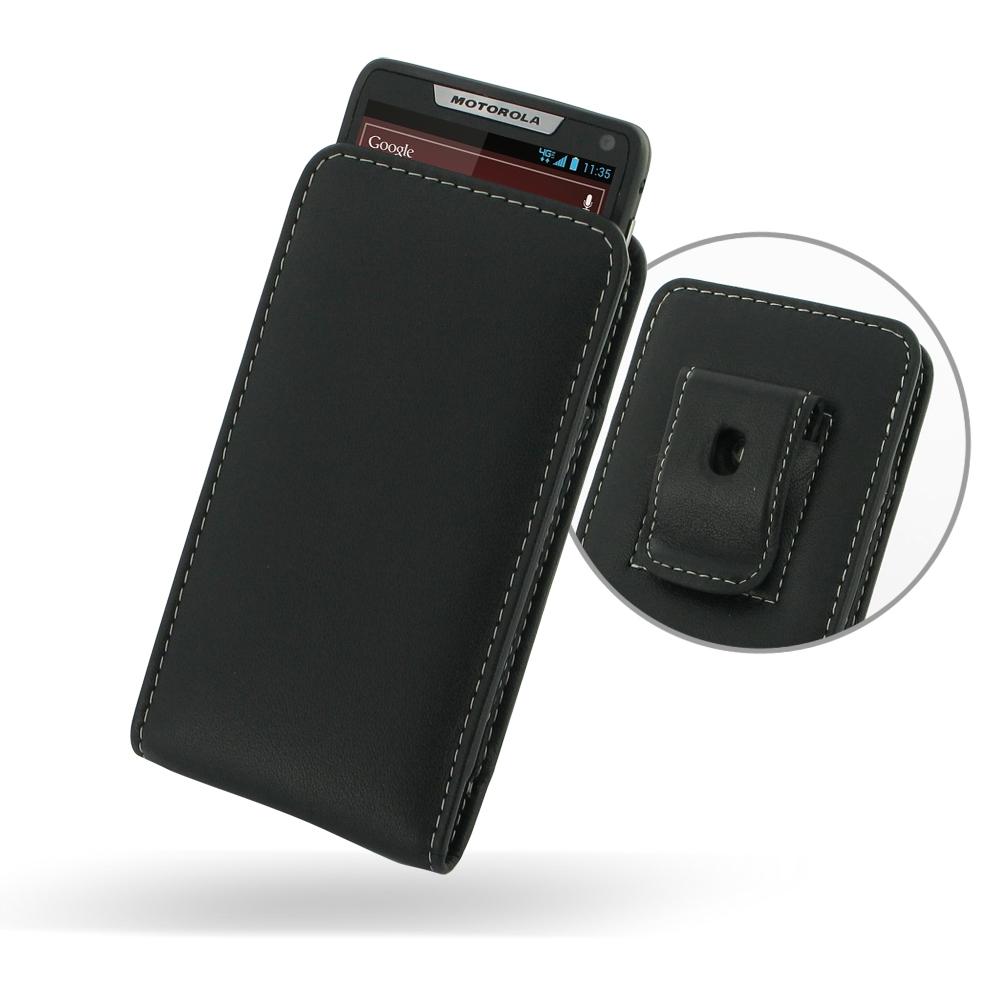motorola droid razr m pouch case with belt clip pdair