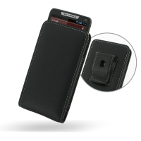 Leather Vertical Pouch Belt Clip Case for Motorola Razr i XT890