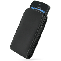 10% OFF + FREE SHIPPING, Buy Best PDair Top Quality Handmade Protective Nokia C5-03 Pouch Case with Belt Clip (Black) online. You also can go to the customizer to create your own stylish leather case if looking for additional colors, patterns and types.