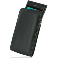 10% OFF + FREE SHIPPING, Buy PDair Top Quality Handmade Protective Nokia Lumia 800 Pouch Case with Belt Clip (Green Stitch) online. You also can go to the customizer to create your own stylish leather case if looking for additional colors, patterns and ty