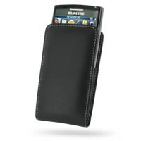 10% OFF + FREE SHIPPING, Buy Best PDair Quality Handmade Protective Samsung Blackjack II SGH-i617 Pouch Case with Belt Clip (Black). You also can go to the customizer to create your own stylish leather case if looking for additional colors, patterns and t
