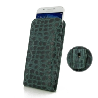 10% OFF + FREE SHIPPING, Buy PDair Quality Handmade Protective Samsung Galaxy A8 Pouch Case with Belt Clip (Green Croc Pattern). You also can go to the customizer to create your own stylish leather case if looking for additional colors, patterns and types