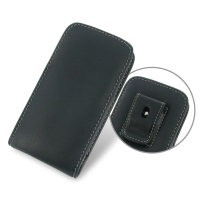 Leather Vertical Pouch Belt Clip Case for Samsung Galaxy Express 2 SM-G3815