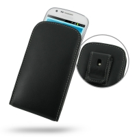 Leather Vertical Pouch Belt Clip Case for Samsung Galaxy Express GT-i8730