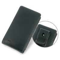 Samsung Galaxy Golden 4G LTE Pouch Case with Belt Clip PDair Premium Hadmade Genuine Leather Protective Case Sleeve Wallet