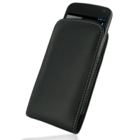 Leather Vertical Pouch Belt Clip Case for Samsung Galaxy Nexus GT-i9250 SCH-i515