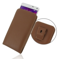 10% OFF + FREE SHIPPING, Buy PDair Top Quality Handmade Protective Samsung Galaxy Note 4 Pouch Case with Belt Clip (Brown) online. You also can go to the customizer to create your own stylish leather case if looking for additional colors, patterns and typ