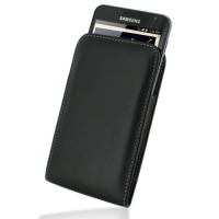 Leather Vertical Pouch Belt Clip Case for Samsung Galaxy Note GT-N7000