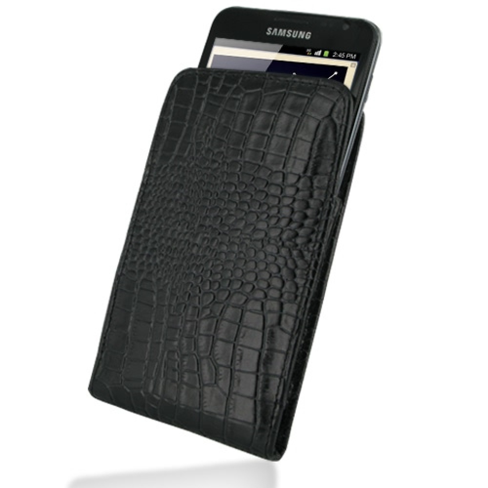 10% OFF + FREE SHIPPING, Buy PDair Quality Handmade Protective Samsung Galaxy Note Pouch Case with Belt Clip (Black Croc Pattern) online. You also can go to the customizer to create your own stylish leather case if looking for additional colors, patterns