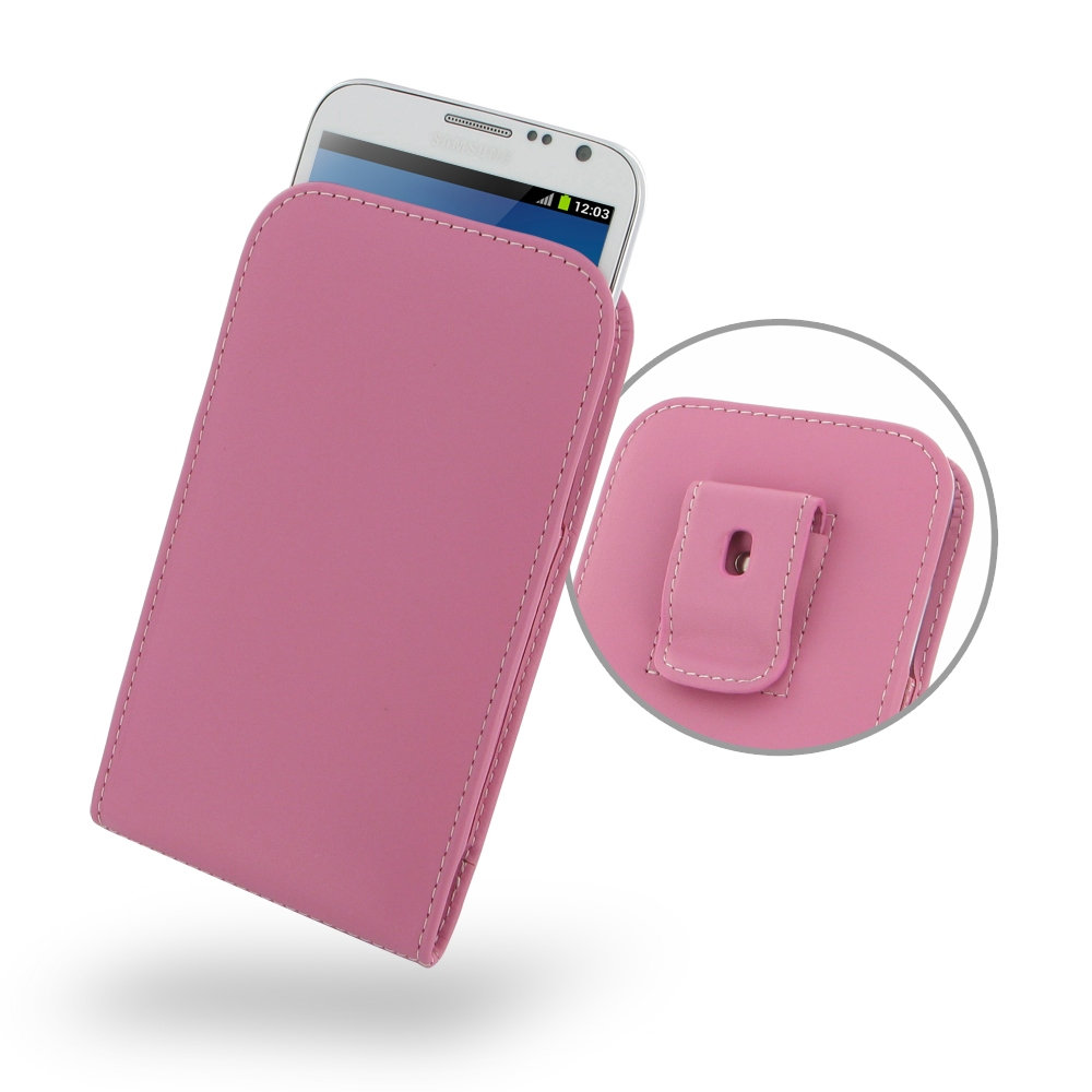 10% OFF + FREE SHIPPING, Buy Best PDair Quality Handmade Protective Samsung Galaxy Note 2 Pouch Case with Belt Clip (Petal Pink). You also can go to the customizer to create your own stylish leather case if looking for additional colors, patterns and type