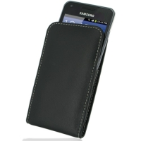 Leather Vertical Pouch Belt Clip Case for Samsung Galaxy S Advance GT-i9070