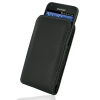 Leather Vertical Pouch Belt Clip Case for Samsung Galaxy S II Epic 4G Touch SPH-D710