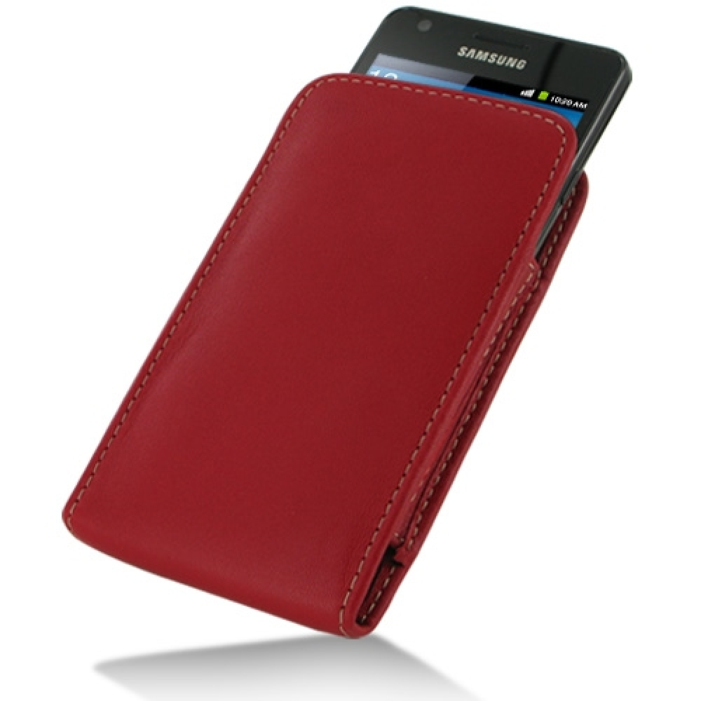 10% OFF + FREE SHIPPING, Buy Best PDair Top Quality Handmade Protective Samsung Galaxy S2 Pouch Case with Belt Clip (Red). You also can go to the customizer to create your own stylish leather case if looking for additional colors, patterns and types.