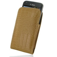 10% OFF + FREE SHIPPING, Buy PDair Quality Handmade Protective Samsung Galaxy S2 T989 Pouch Case with Belt Clip (Brown Croc Pattern). You also can go to the customizer to create your own stylish leather case if looking for additional colors, patterns and