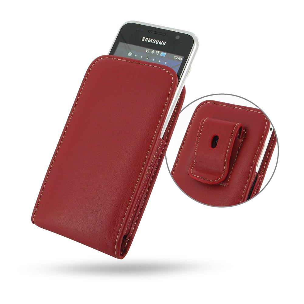 10% OFF + FREE SHIPPING, Buy PDair Top Quality Handmade Protective Samsung Galaxy S WiFi 4.0 Pouch Case with Belt Clip (Red) online. You also can go to the customizer to create your own stylish leather case if looking for additional colors, patterns and t