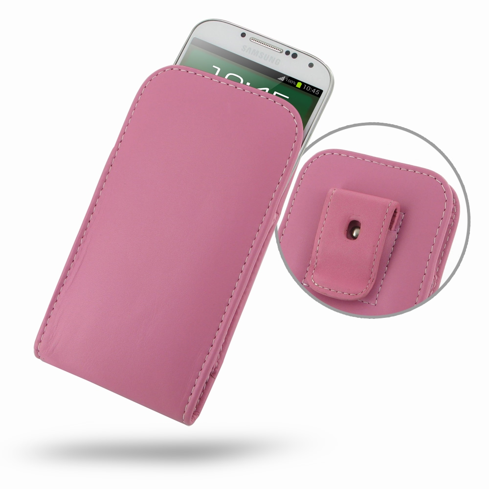 10% OFF + FREE SHIPPING, Buy PDair Top Quality Handmade Protective Samsung Galaxy S4 Pouch Case with Belt Clip (Petal Pink) online. You also can go to the customizer to create your own stylish leather case if looking for additional colors, patterns and ty