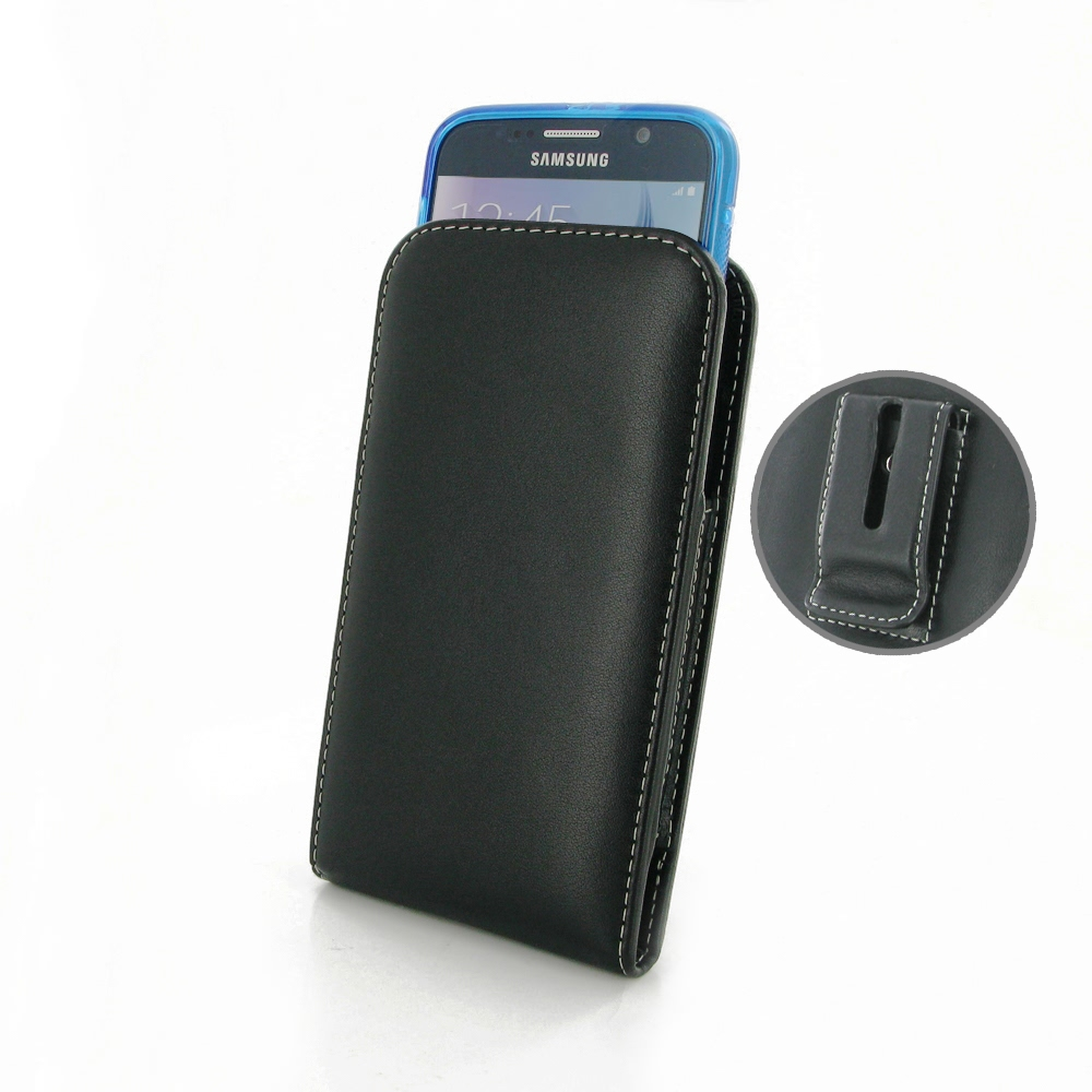 10% OFF + FREE SHIPPING, Buy Best PDair Top Quality Handmade Protective Samsung Galaxy S6 (in Slim Cover) Pouch Clip Case. You also can go to the customizer to create your own stylish leather case if looking for additional colors, patterns and types.