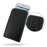 Leather Vertical Pouch Belt Clip Case for Samsung Galaxy Win Duos GT-i8550 GT-i8552