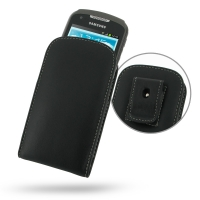Leather Vertical Pouch Belt Clip Case for Samsung Galaxy Xcover 2 GT-S7710