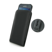 Leather Vertical Pouch Belt Clip Case for Samsung Galaxy Xcover 3 SM-G388F