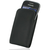 Leather Vertical Pouch Belt Clip Case for Samsung Galaxy Y Duos GT-S6102