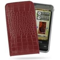 10% OFF + FREE SHIPPING, Buy PDair Quality Handmade Protective Samsung Omnia i908 i900 Pouch Case with Belt Clip (Red Croc Pattern) online. You also can go to the customizer to create your own stylish leather case if looking for additional colors, pattern