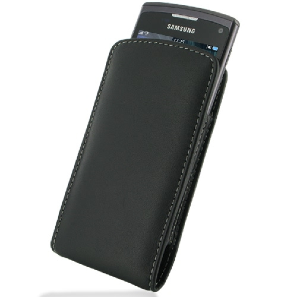10% OFF + FREE SHIPPING, Buy Best PDair Top Quality Handmade Protective Samsung Wave 3 Pouch Case with Belt Clip (Black) online. You also can go to the customizer to create your own stylish leather case if looking for additional colors, patterns and types