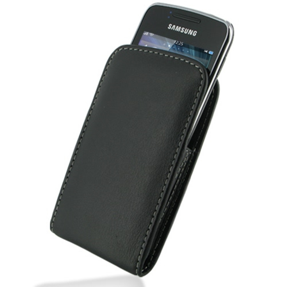 10% OFF + FREE SHIPPING, Buy Best PDair Top Quality Handmade Protective Samsung Wave Y Pouch Case with Belt Clip (Black) online. You also can go to the customizer to create your own stylish leather case if looking for additional colors, patterns and types