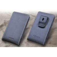 Leather Vertical Pouch Belt Clip Case for Sharp Aquos Phone XX SoftBank 302SH