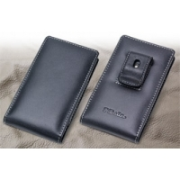Leather Vertical Pouch Belt Clip Case for Sharp AQUOS Xx SoftBank 304SH