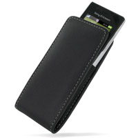 10% OFF + FREE SHIPPING, Buy PDair Top Quality Handmade Protective Sony Ericsson Elm J10 Pouch Case with Belt Clip (Black) online. You also can go to the customizer to create your own stylish leather case if looking for additional colors, patterns and typ