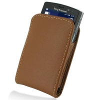 10% OFF + FREE SHIPPING, Buy Best PDair Quality Handmade Protective Sony Ericsson Xperia Mini Pro Pouch Case with Belt Clip (Brown). You also can go to the customizer to create your own stylish leather case if looking for additional colors, patterns and t