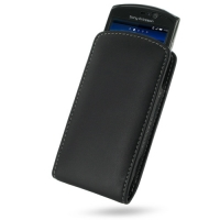 10% OFF + FREE SHIPPING, Buy PDair Quality Handmade Protective Sony Ericsson Xperia Neo / Neo V Pouch Case with Belt Clip (Black) online. You also can go to the customizer to create your own stylish leather case if looking for additional colors, patterns